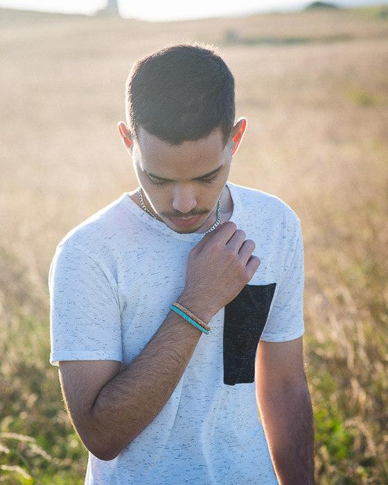 vegan braided bracelet for men