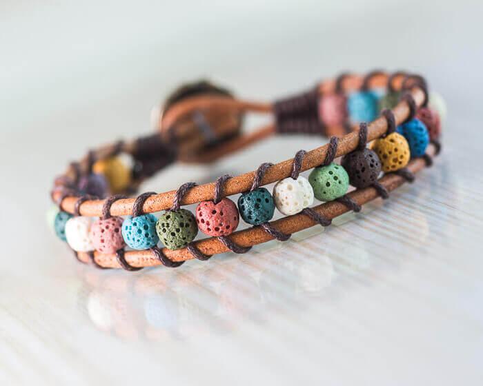gemstone bracelet, beaded bracelet,